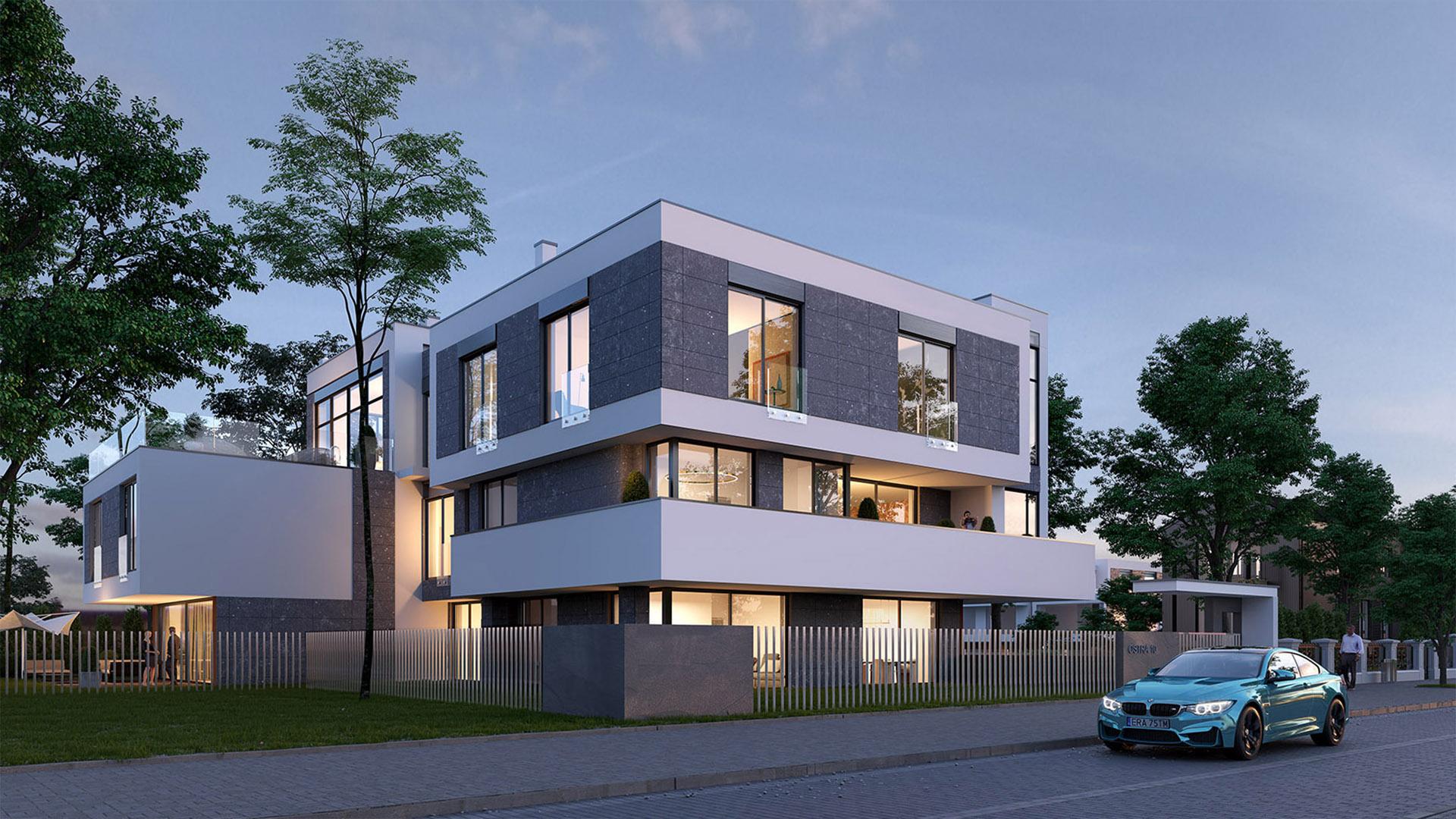 EuroVilla agencja nieruchomosci klasy premium Ostra Residence Inwestycja Wilanow