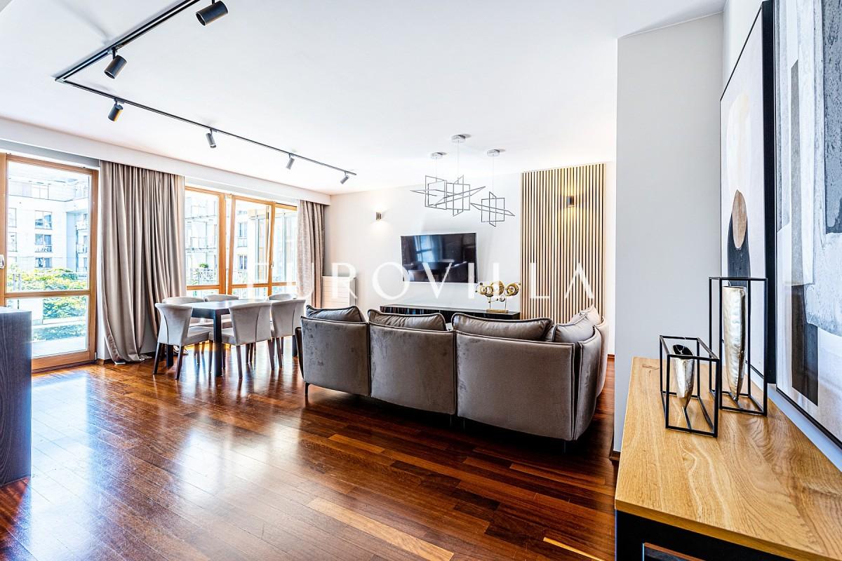 Luksusowy apartament 118 m2 z tarasem na Mokotowie
