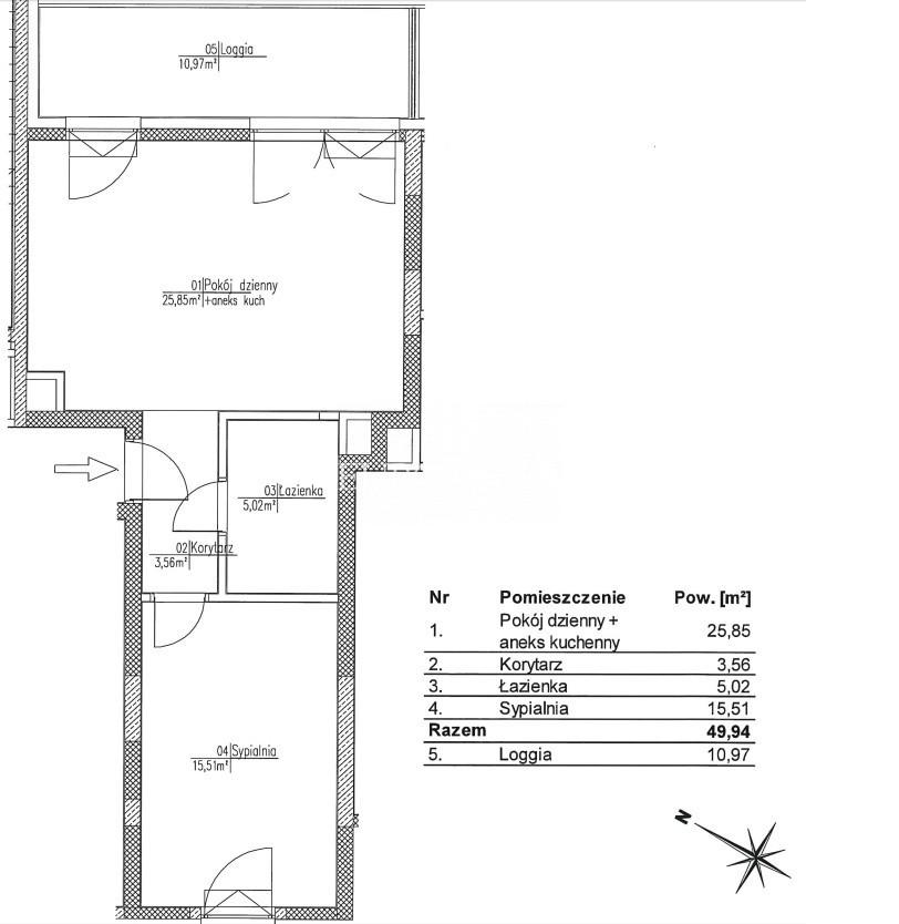 Mieszkanie na sprzedaż Wilanów