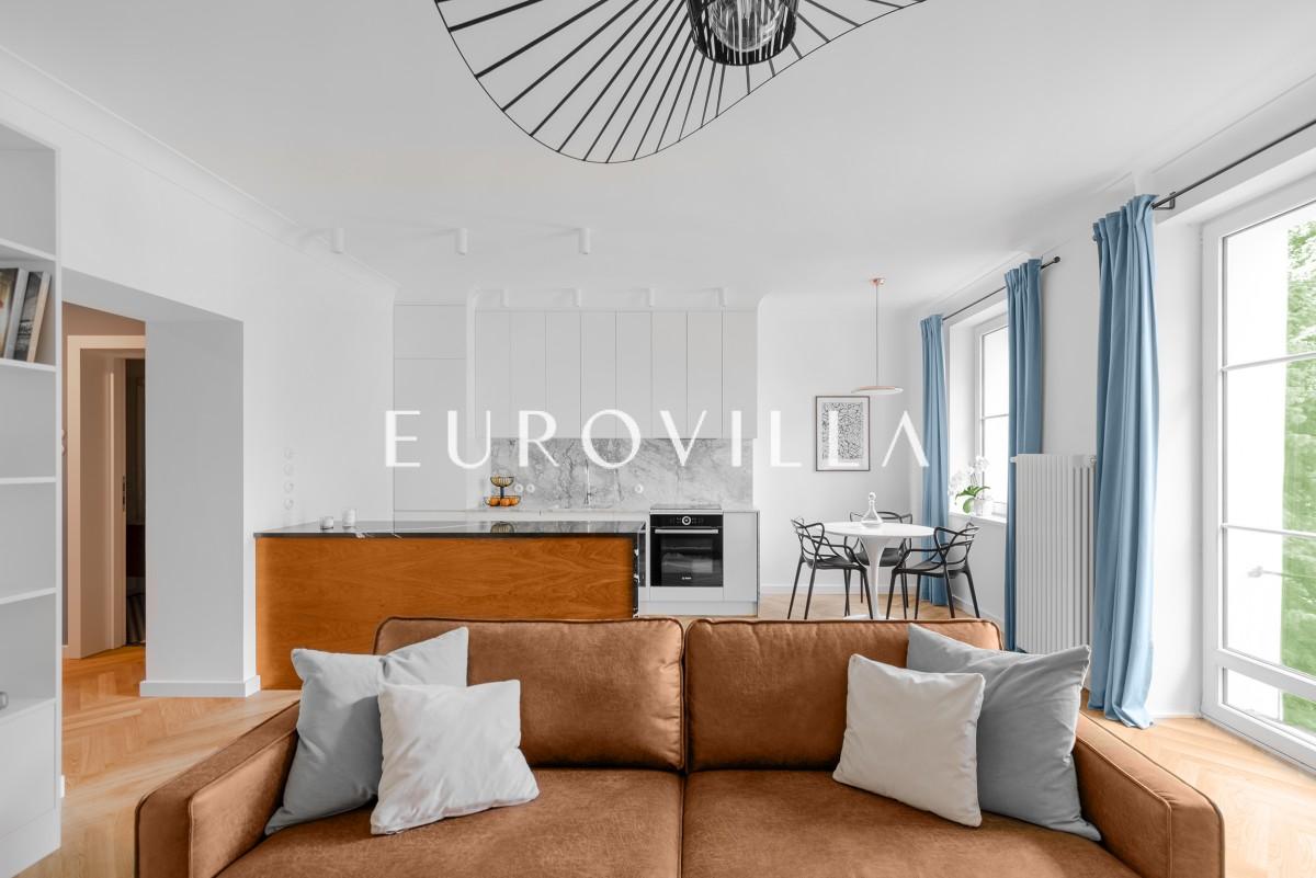 Niezwykły apartament na zielonym Żoliborzu